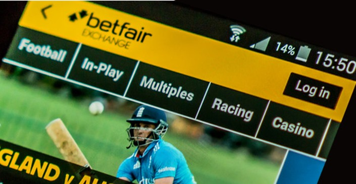 Betfair mobile site