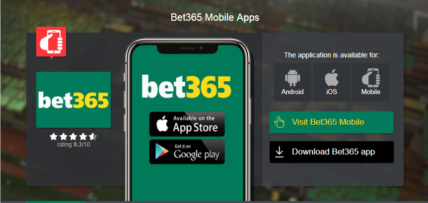 Bet365 login mobile sports