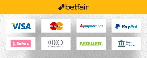 Betfair payment methods for Filipinos