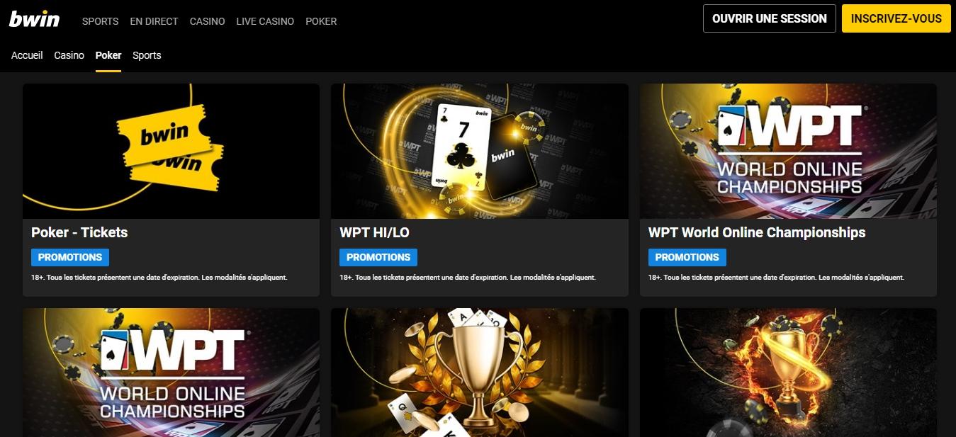 Bwin casino Welcome Bonus