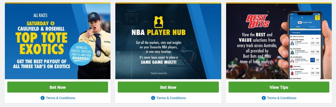 Sportsbet bonus bet offer for casino